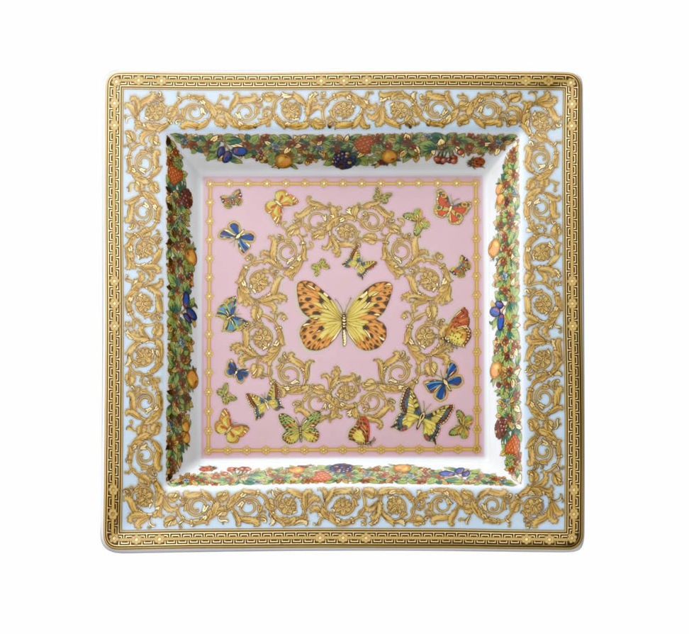 Les Jardin de Versace, Square dish