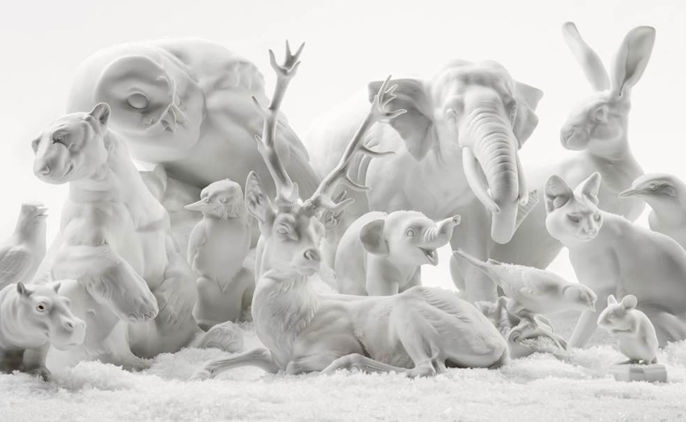 Porcelain Serval