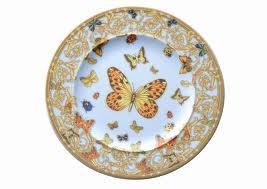 Le Jardin de Versace, Bread plate