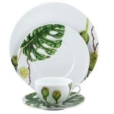 Ikebana, Dinner plate