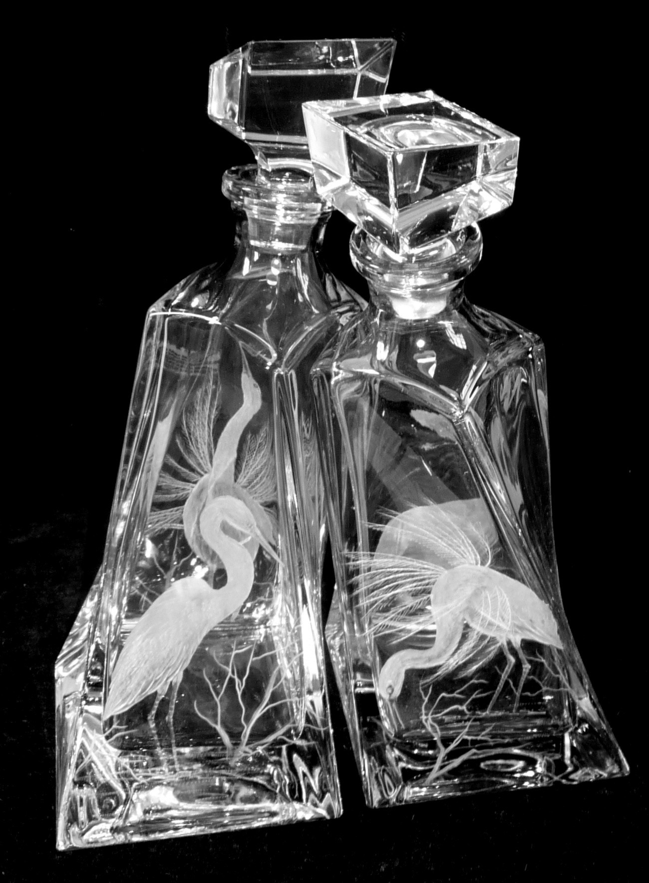 The Lovers Decanters