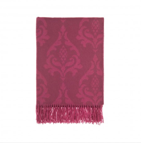 Traquair Brights Throws, 100% cashmere