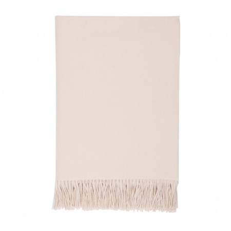 Plain Throw, 100% cashmere