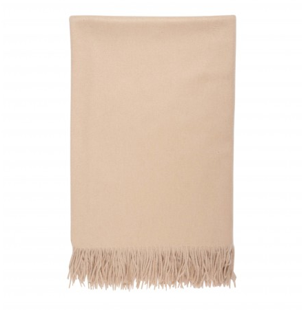 Plain Throw, 100% cashmere