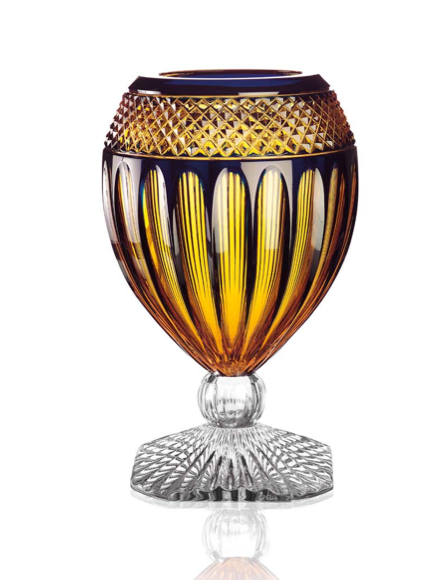 Orphos, Amber Crystal Vase