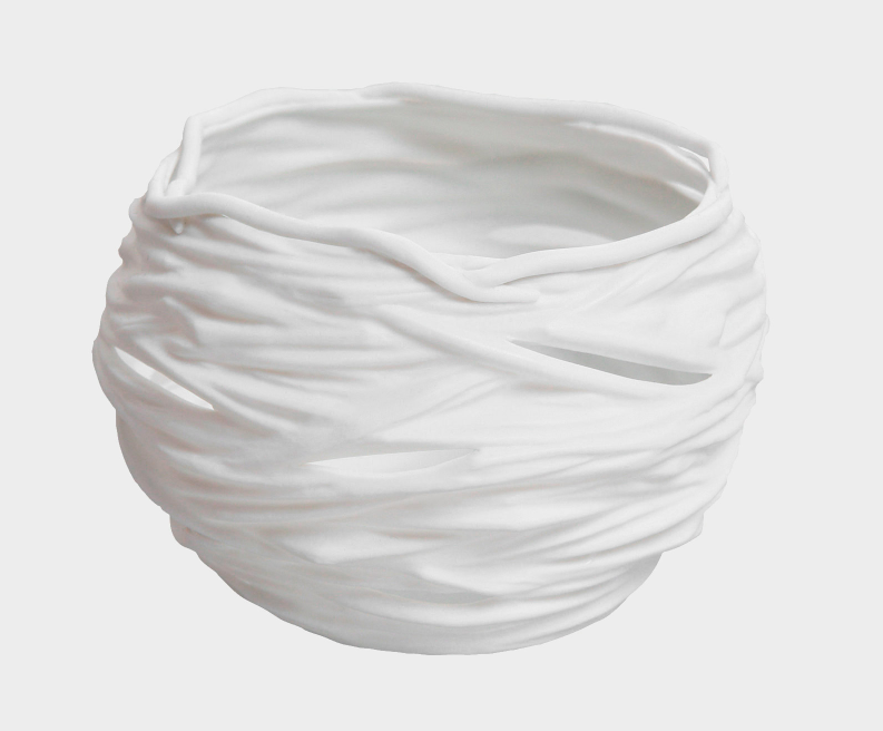 Porcelain Nest shaped Votive