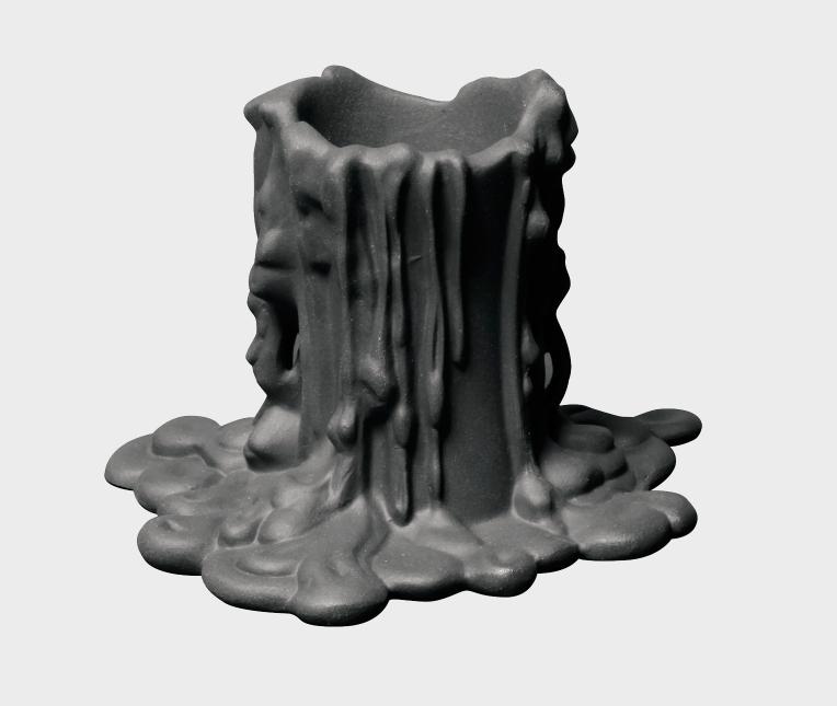 Porcelain Candleholder Vesuvius