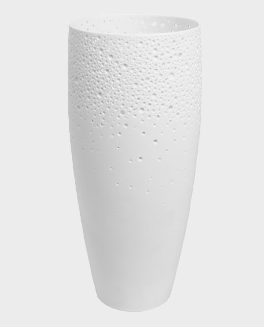 Porcelain Coral look Vase