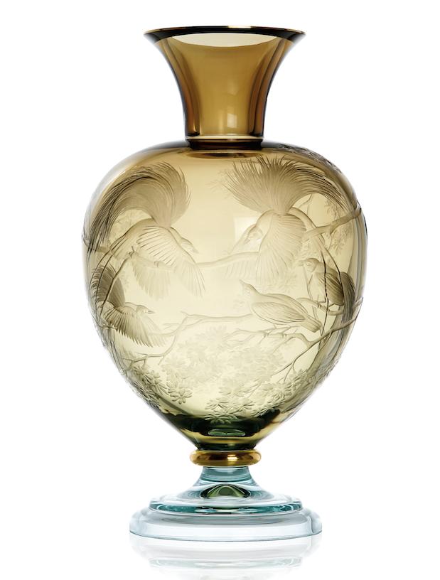 Birds of Paradise Vase