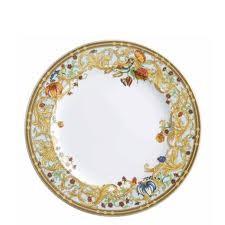 Le Jardin de Versace, Dinner plate