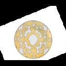 Balcon du Guadalquivir, Gold, Bread plate No 3