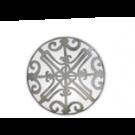 Balcon du Guadalquivir, Platinum, Bread plate No 6