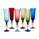 I Barocchi Giulia, 6 Champagne flutes