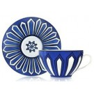 Blues d'Ailleurs, Tea Cup and Saucer