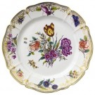 Cumberland Porcelain, Hand painted Dinner Plate