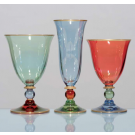 Arlecchino, Drinking glasses, set of 3