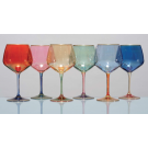 Arlecchino, Wine glasses, set of 6